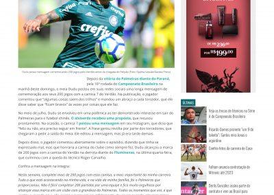 Dudu - GazetaEsportiva.com - 29/07/2018