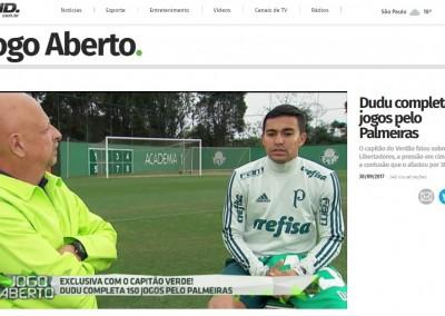 Dudu - Jogo Aberto - 30/09/2017