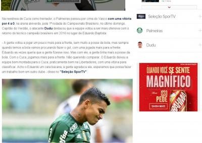 Dudu - Seleção Sportv - 16/05/2017