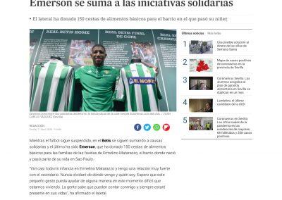 Emerson - Diario de Sevilla - 11/04/2020