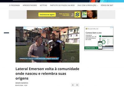 Emerson - Esporte Fantástico - 04/01/2020