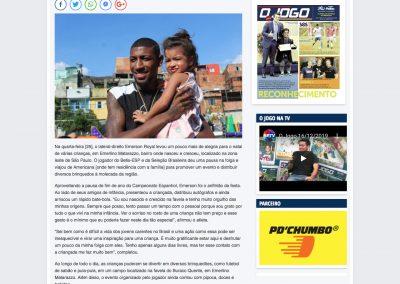 Emerson - Jornal O Jogo - 26/12/2019