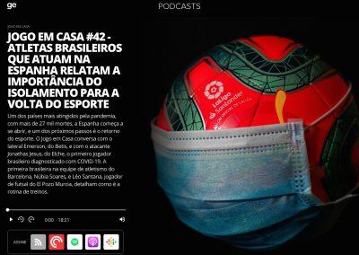 Emerson - Podcast Globoesporte.com - 28/05/2020