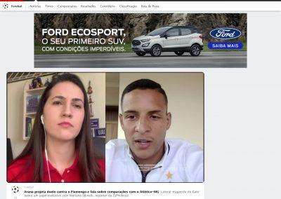 Guilherme Arana - ESPN - 31/07/2020