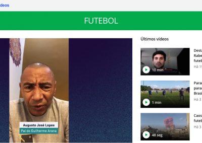 Guilherme Arana - Globoesporte.com - 09/08/2020