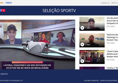 Guilherme Arana - Seleção SporTV - 14/08/2020