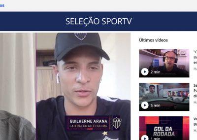 Guilherme Arana - Seleção Sportv - 05/10/2020