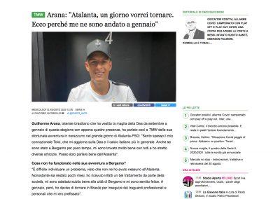 Guilherme Arana - Tutto Mercato - 21/08/2020