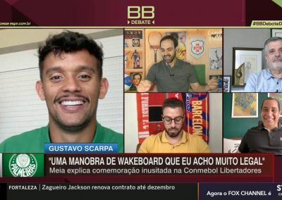 Gustavo Scarpa - Bate-Bola Debate - 09/03/2021