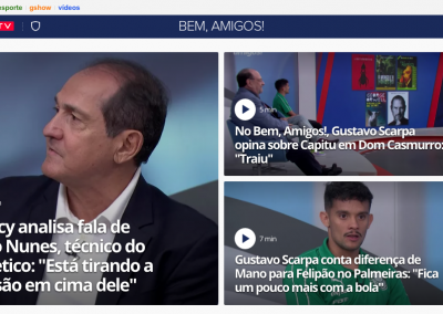 Gustavo Scarpa - Destaque Globoesporte.com - 16/09/2019