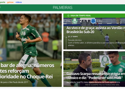 Gustavo Scarpa - Destaque Globoesporte.com - 31/10/2019