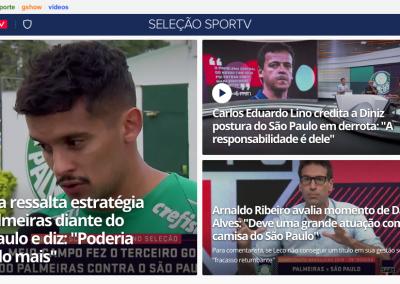 Gustavo Scarpa - Destaque Seleção Sportv - 31/10/2019