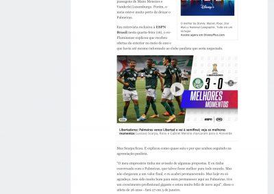 Gustavo Scarpa - ESPN - 16/12/2020