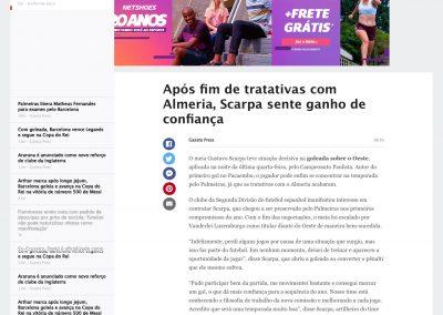 Gustavo Scarpa - ESPN - 30/01/2020