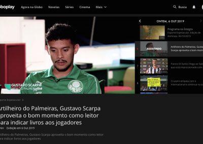 Gustavo Scarpa - Esporte Espetacular - 06/10/2019