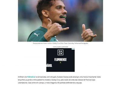 Gustavo Scarpa - Gazeta - 30/07/2019