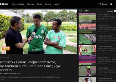 Gustavo Scarpa - Globo Esporte - 02/11/2019