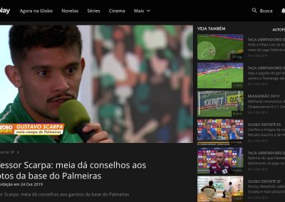 Gustavo Scarpa - Globo Esporte - 24/10/2019