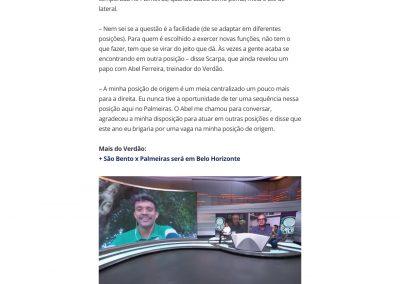 Gustavo Scarpa - Globoesporte.com - 15/03/2021