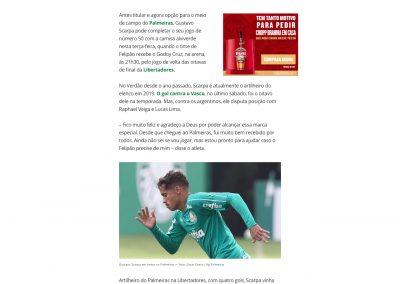 Gustavo Scarpa - Globoesporte.com - 30/07/2019