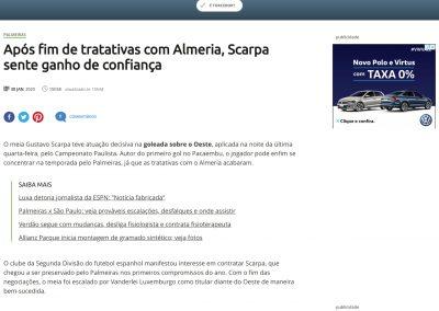 Gustavo Scarpa - Terra - 30/01/2020