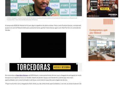 Gustavo Scarpa - Torcedores.com - 09/03/2021