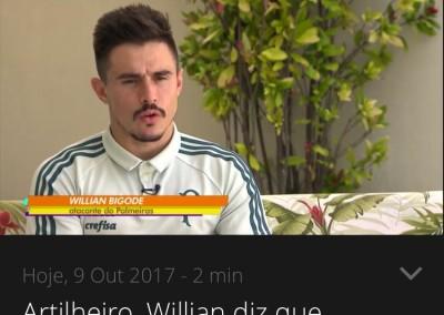 Willian - Globo Esporte - 09/10/2017