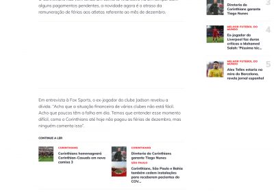 Jadson - Esporte Interativo - 24/03/2020