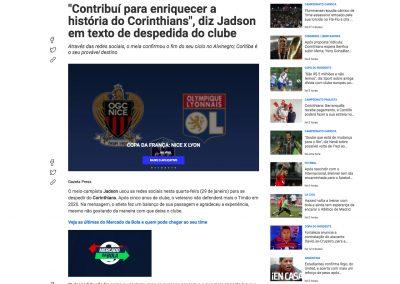 Jadson - Fox Sports - 29/01/2020
