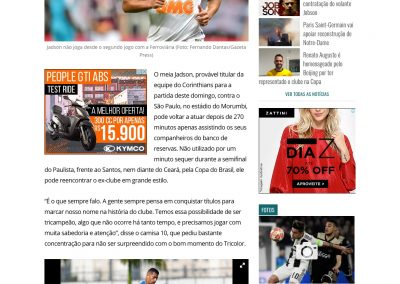 Jadson - Gazeta - 13/04/2019