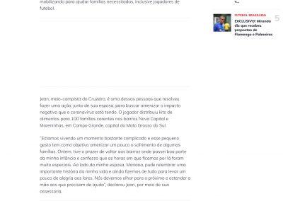 Jean - Esporte Interativo - 30/04/2020