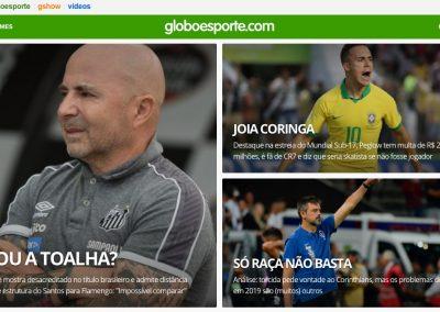 João Peglow - Destaque Globoesporte.com - 27/10/2019