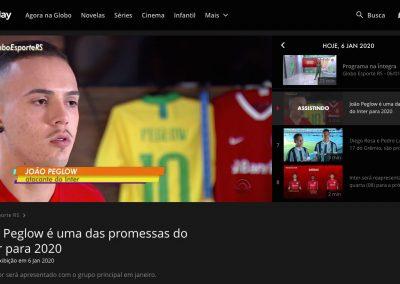 João Peglow - Globo Esporte - 06/01/2020
