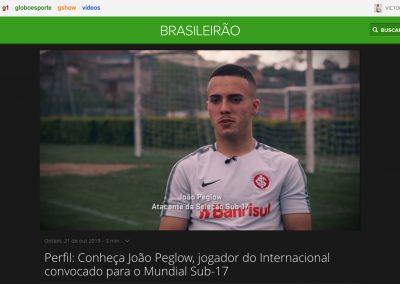 João Peglow - Globoesporte.com - 21/10/2019