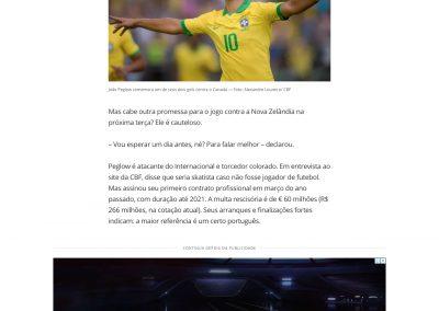 João Peglow - Globoesporte.com - 27/10/2019