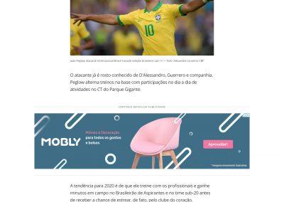 João Peglow - Globoesporte.com - 29/10/2019