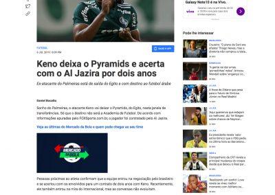 Keno - Fox Sports - 06/07/2019