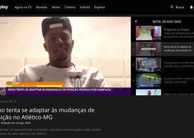 Keno - Globo Esporte - 28/08/2020