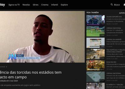 Keno - Jornal Nacional - 03/10/2020