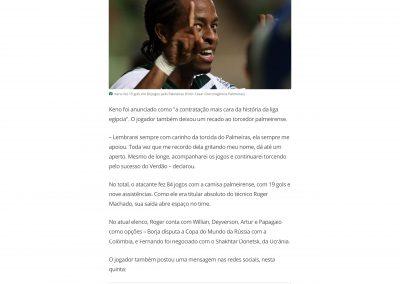 Keno - GloboEsporte.com - 27/06/2018
