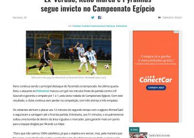 Keno - Gazeta Esportiva - 13/09/2018