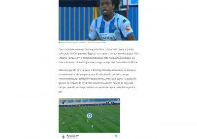 Keno - Globo Esporte - 08/08/2018