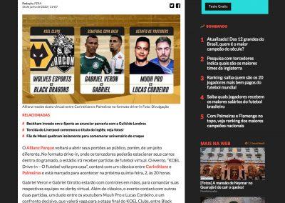 Koel - Esporte Fera - 26/06/2020