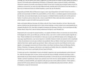 Koel - Jornal O Sul - 29/05/2020