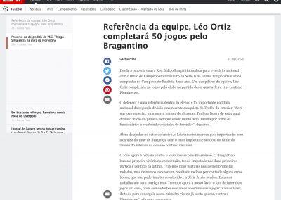 Léo Ortiz - ESPN - 18/08/2020