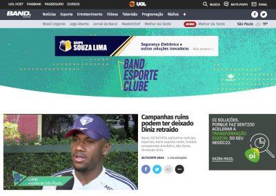 Luan - Band Esporte Clube - 20/10/2019