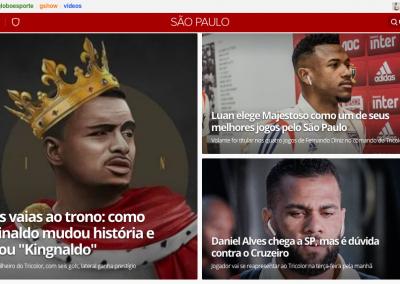 Luan - Destaque Globoesporte.com - 15/10/2019