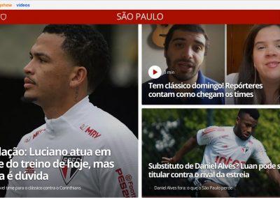 Luan - Destaque Globoesporte.com - 28/08/2020