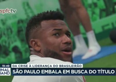 Luan - Jornal da Band - 07/12/2020
