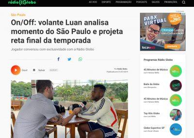 Luan - Rádio Globo - 31/07/2019